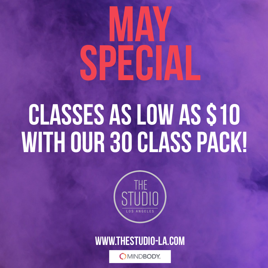May Special - Classes as low as $10